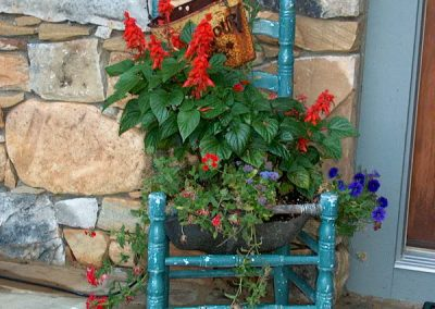 Container Garden for the Front Door