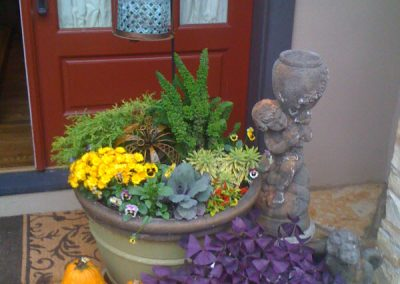 fall container gardens-landscape services
