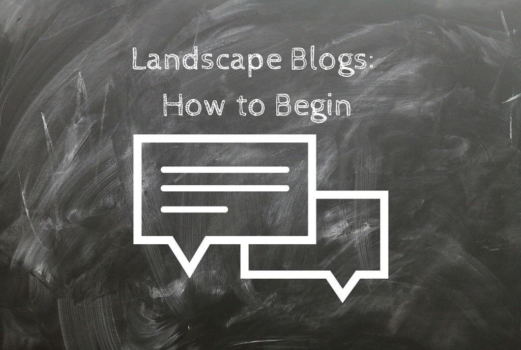 Landscape blogs