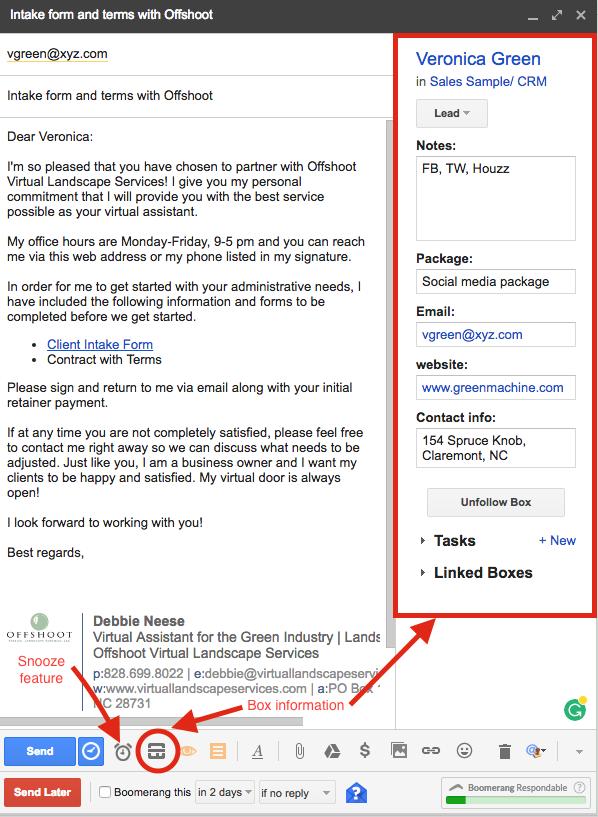Client info-Streak-virtual assistant
