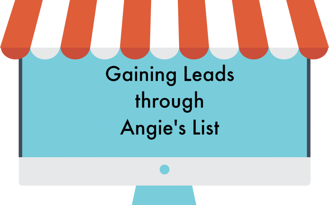 Gaining Leads through Angie's List