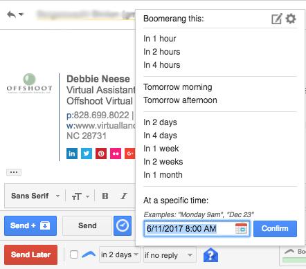 Gmail-Boomerrang
