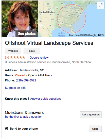 Google My Business-website SEO-local search