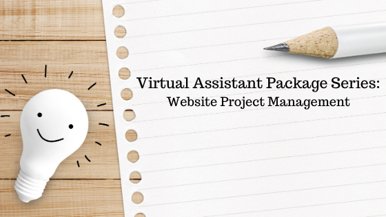 Virtual Assistant Package: Website Project Management