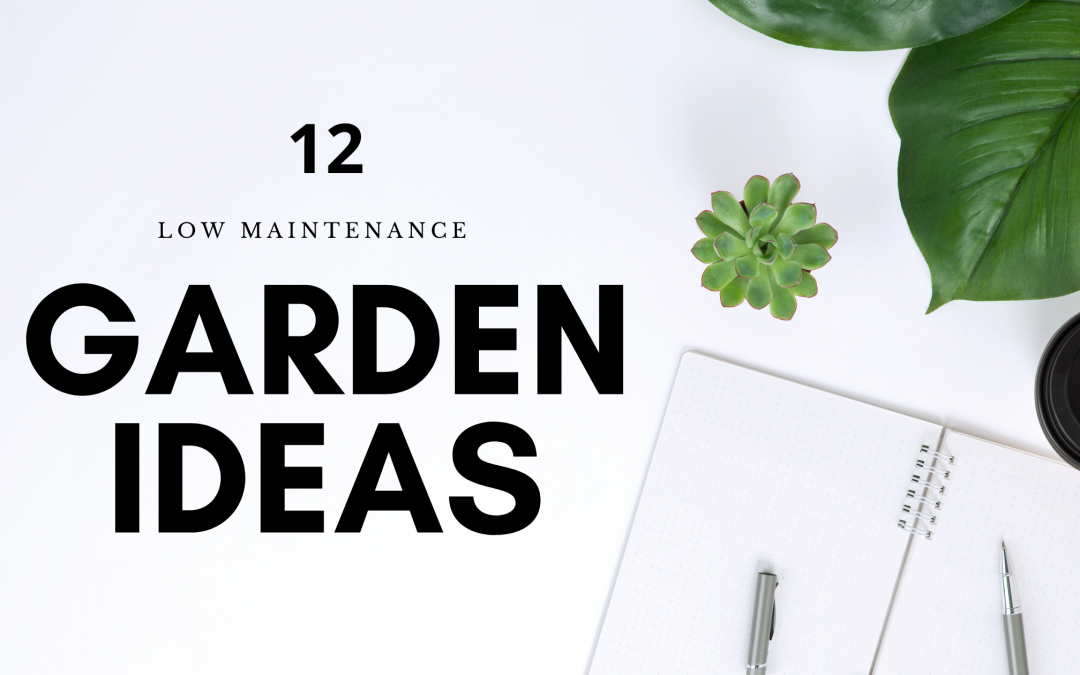 12 Low Maintenance Garden Ideas